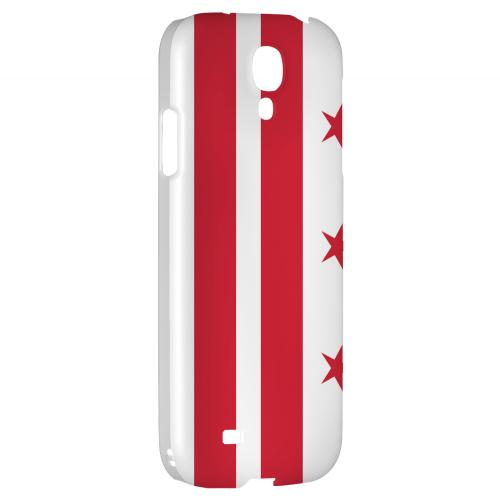 Washington, D.C. - Geeks Designer Line Flag Series Hard Back Case for Samsung Galaxy S4