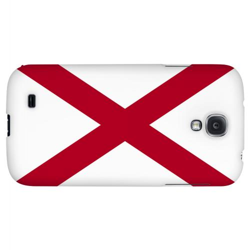 Alabama - Geeks Designer Line Flag Series Hard Back Case for Samsung Galaxy S4