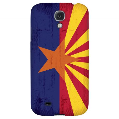 Grunge Arizona - Geeks Designer Line Flag Series Hard Case for Samsung Galaxy S4