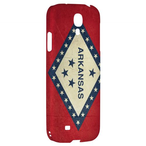 Grunge Arkansas - Geeks Designer Line Flag Series Hard Case for Samsung Galaxy S4