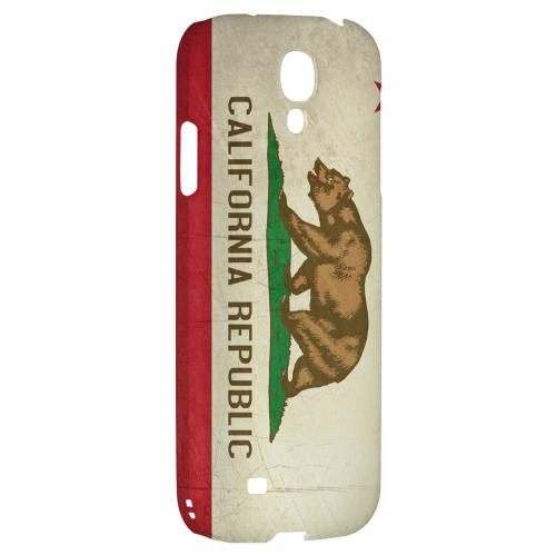 Grunge California - Geeks Designer Line Flag Series Hard Case for Samsung Galaxy S4