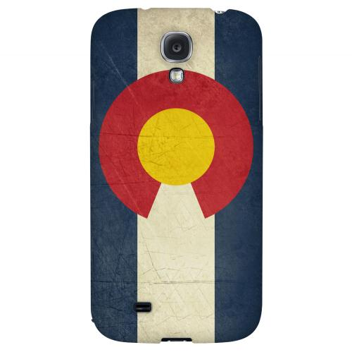 Grunge Colorado - Geeks Designer Line Flag Series Hard Case for Samsung Galaxy S4