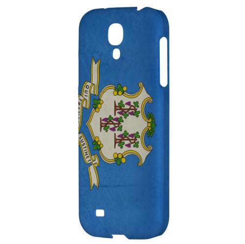 Grunge Connecticut - Geeks Designer Line Flag Series Hard Case for Samsung Galaxy S4