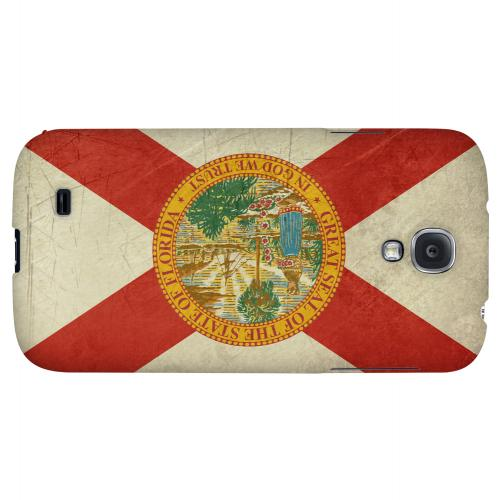 Grunge Florida - Geeks Designer Line Flag Series Hard Case for Samsung Galaxy S4