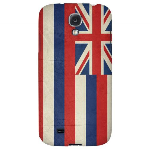 Grunge Hawaii - Geeks Designer Line Flag Series Hard Case for Samsung Galaxy S4