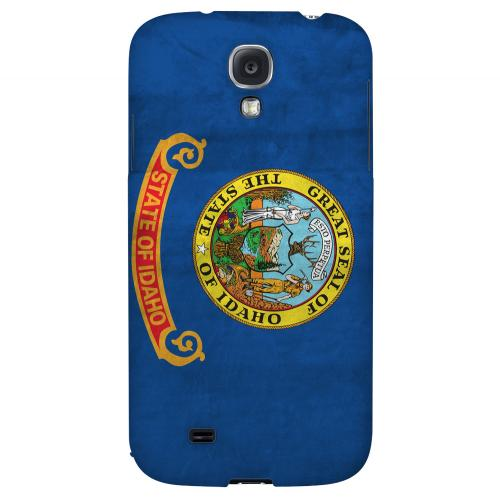 Grunge Idaho - Geeks Designer Line Flag Series Hard Case for Samsung Galaxy S4