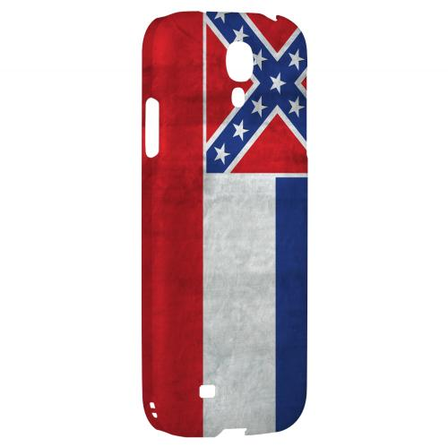Grunge Mississippi - Geeks Designer Line Flag Series Hard Case for Samsung Galaxy S4