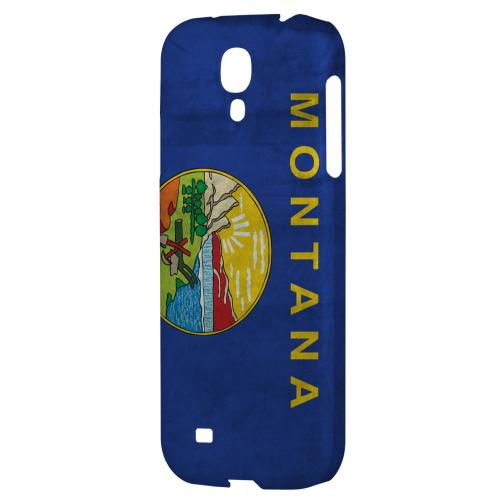 Grunge Montana - Geeks Designer Line Flag Series Hard Case for Samsung Galaxy S4