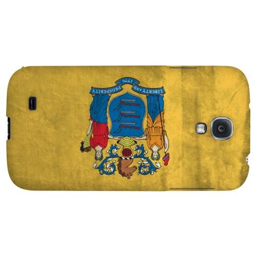 Grunge New Jersey - Geeks Designer Line Flag Series Hard Case for Samsung Galaxy S4