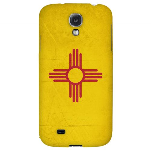 Grunge New Mexico - Geeks Designer Line Flag Series Hard Case for Samsung Galaxy S4