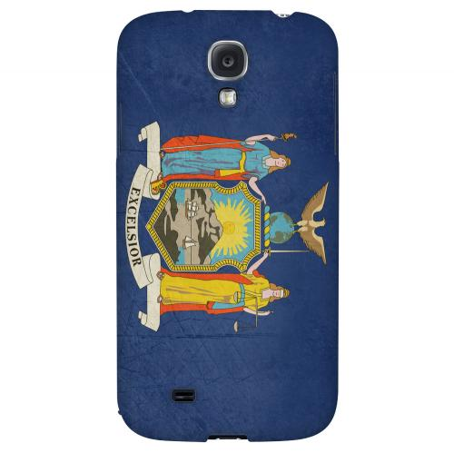 Grunge New York - Geeks Designer Line Flag Series Hard Case for Samsung Galaxy S4