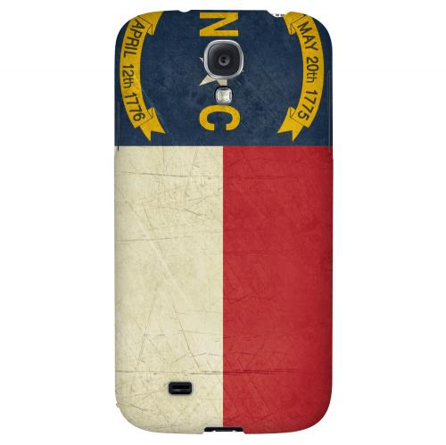 Grunge North Carolina - Geeks Designer Line Flag Series Hard Case for Samsung Galaxy S4
