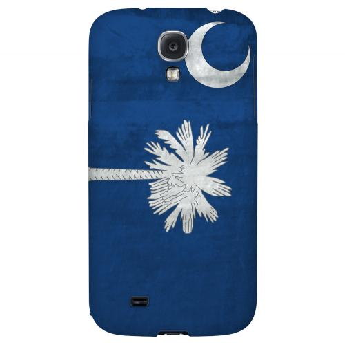 Grunge South Carolina - Geeks Designer Line Flag Series Hard Case for Samsung Galaxy S4