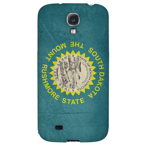 Grunge South Dakota - Geeks Designer Line Flag Series Hard Case for Samsung Galaxy S4
