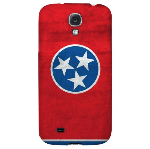 Grunge Tennessee - Geeks Designer Line Flag Series Hard Case for Samsung Galaxy S4