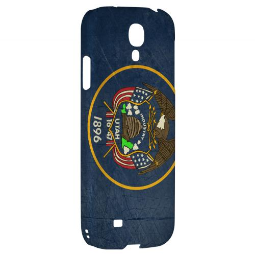 Grunge Utah - Geeks Designer Line Flag Series Hard Case for Samsung Galaxy S4