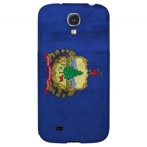 Grunge Vermont - Geeks Designer Line Flag Series Hard Case for Samsung Galaxy S4