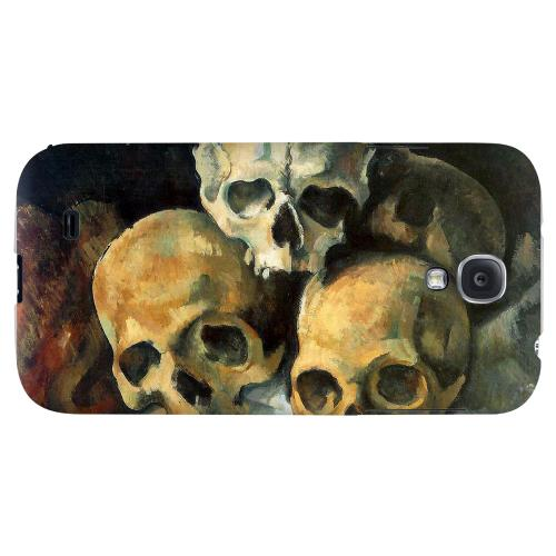 Paul Cezanne Pyramid of Skulls - Geeks Designer Line Artist Series Hard Back Case for Samsung Galaxy S4