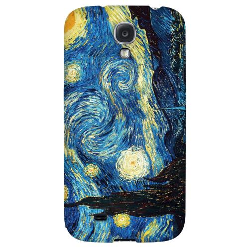 Vincent Van Gogh Starry Night - Geeks Designer Line Artist Series Hard Back Case for Samsung Galaxy S4
