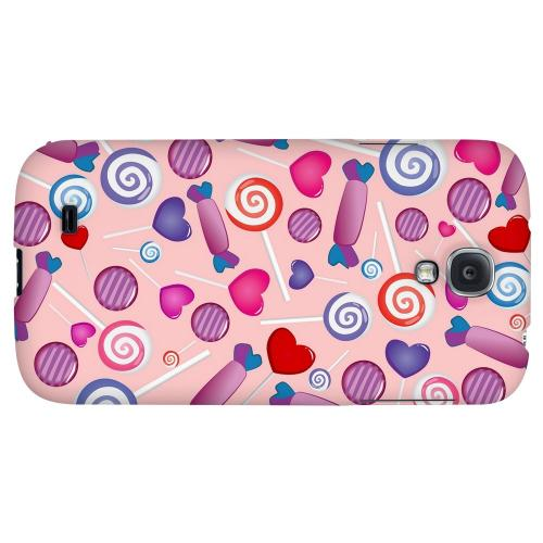Assorted Candy - Geeks Designer Line Candy Series Hard Back Case for Samsung Galaxy S4