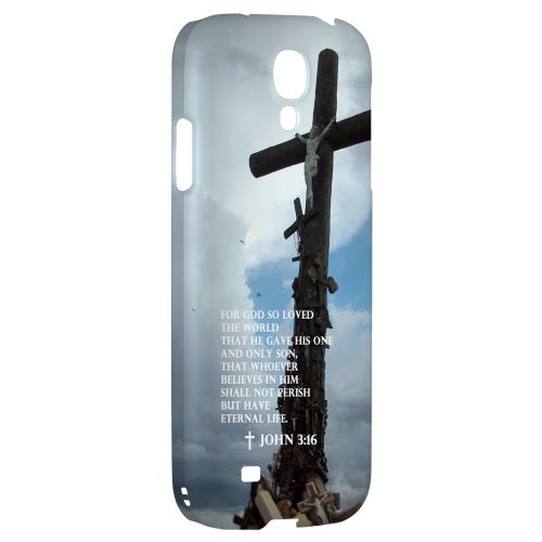 John 3:16 - Geeks Designer Line Bible Series Hard Back Case for Samsung Galaxy S4