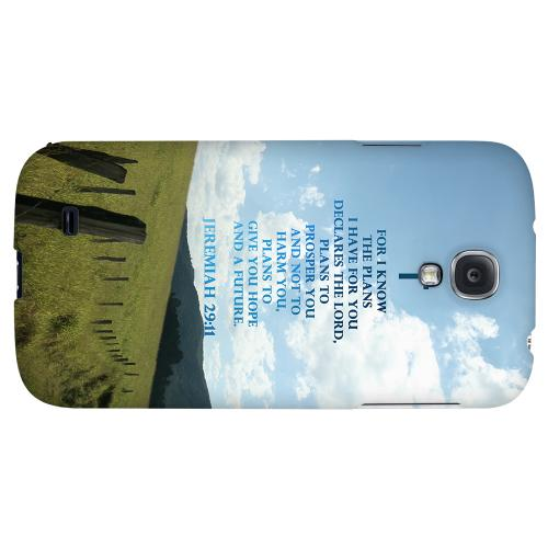 Jeremiah 29:11 - Geeks Designer Line Bible Series Hard Back Case for Samsung Galaxy S4