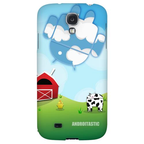 Old McDroidald Had a Farm - Geeks Designer Line Androitastic Series Hard Back Case for Samsung Galaxy S4
