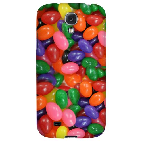 Assorted Jelly Beans - Geeks Designer Line Candy Series Hard Back Case for Samsung Galaxy S4