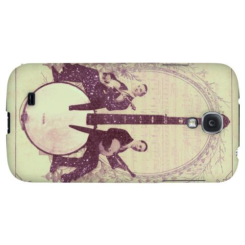 Folk - Geeks Designer Line Americana Nostalgia Series Hard Back Case for Samsung Galaxy S4