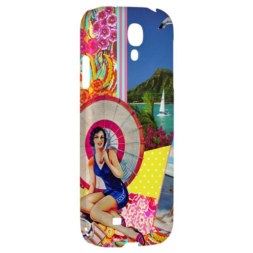 Paradise - Geeks Designer Line Americana Nostalgia Series Hard Back Case for Samsung Galaxy S4