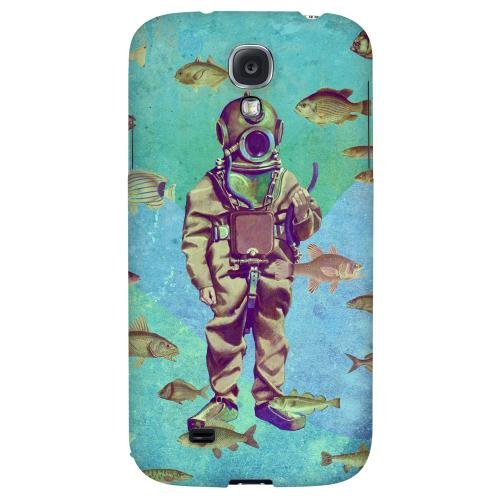 Bloop Bloop - Geeks Designer Line Americana Nostalgia Series Hard Back Case for Samsung Galaxy S4