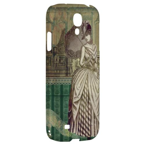 Southern Belle - Geeks Designer Line Americana Nostalgia Series Hard Back Case for Samsung Galaxy S4
