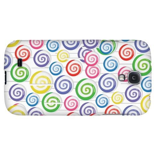 Assorted Lollipops - Geeks Designer Line Candy Series Hard Back Case for Samsung Galaxy S4