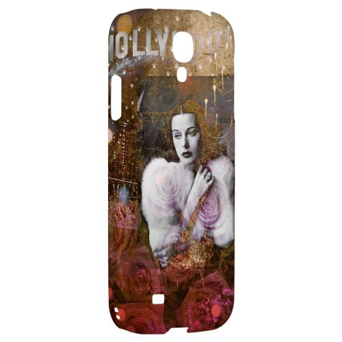 Hollywood Glam - Geeks Designer Line Americana Nostalgia Series Hard Back Case for Samsung Galaxy S4