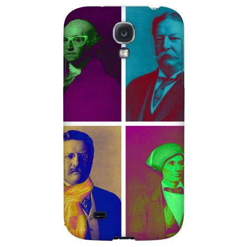 Hip Before It Was Cool - Geeks Designer Line Americana Nostalgia Series Hard Back Case for Samsung Galaxy S4