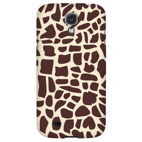 Giraffe - Geeks Designer Line Animal Print Series Hard Back Case for Samsung Galaxy S4