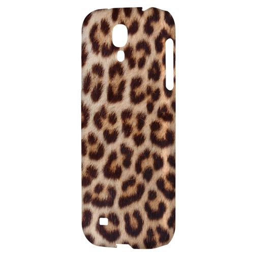 Leopard Close-Up - Geeks Designer Line Animal Print Series Hard Back Case for Samsung Galaxy S4