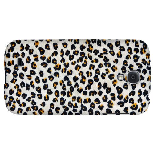 Albino Leopard Print - Geeks Designer Line Animal Print Series Hard Back Case for Samsung Galaxy S4