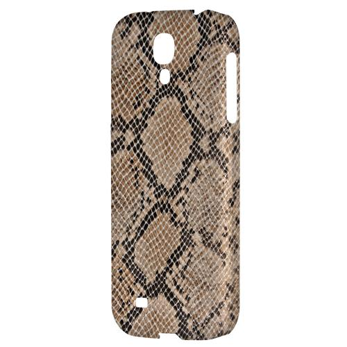 Rattlesnake Skin - Geeks Designer Line Animal Print Series Hard Back Case for Samsung Galaxy S4