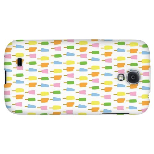 Assorted Popsicles - Geeks Designer Line Candy Series Hard Back Case for Samsung Galaxy S4