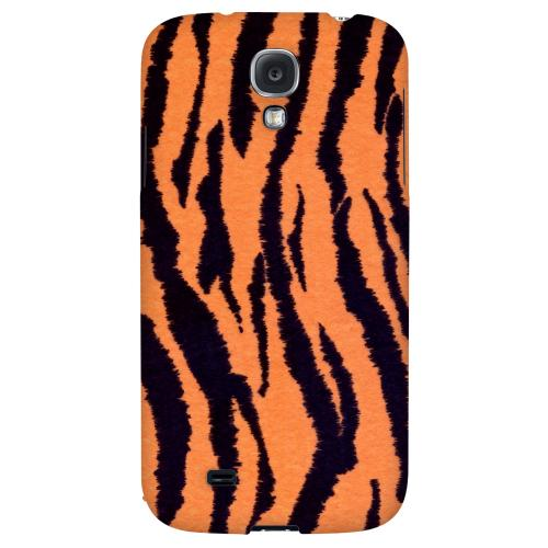 Tiger Print - Geeks Designer Line Animal Print Series Hard Back Case for Samsung Galaxy S4