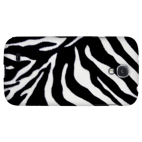 Zebra Print - Geeks Designer Line Animal Print Series Hard Back Case for Samsung Galaxy S4