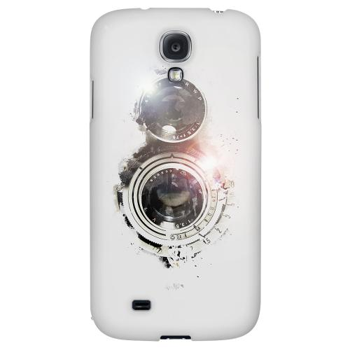 White Lens Flare - Geeks Designer Line Retro Series Hard Back Case for Samsung Galaxy S4