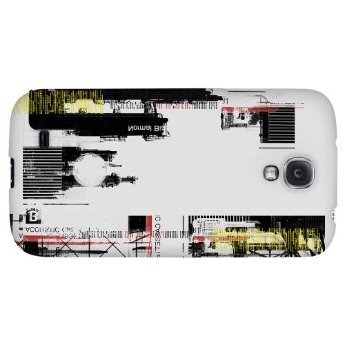 Industrial District - Geeks Designer Line Retro Series Hard Back Case for Samsung Galaxy S4