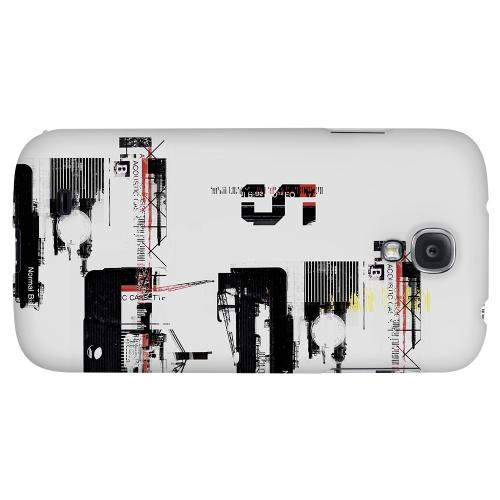 District 5 - Geeks Designer Line Retro Series Hard Back Case for Samsung Galaxy S4