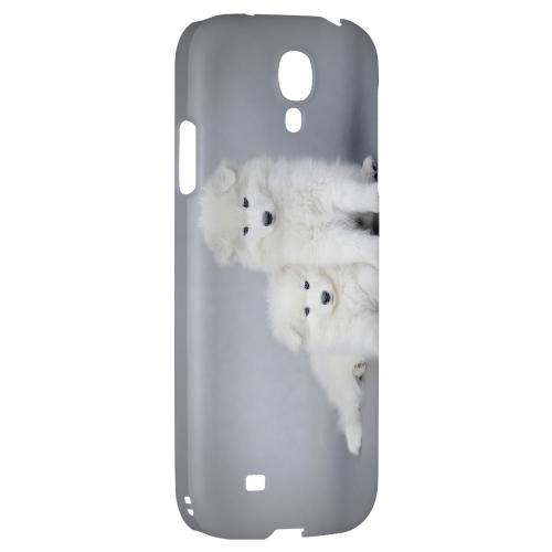 Samoyed Puppies - Geeks Designer Line Puppy Series Hard Back Case for Samsung Galaxy S4