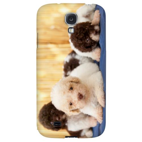 Three Buddies - Geeks Designer Line Puppy Series Hard Back Case for Samsung Galaxy S4