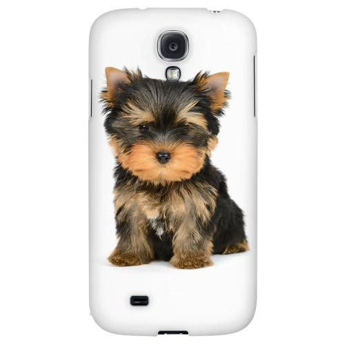 Yorkie - Geeks Designer Line Puppy Series Hard Back Case for Samsung Galaxy S4