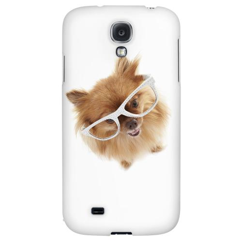 Pomeranian - Geeks Designer Line Puppy Series Hard Back Case for Samsung Galaxy S4