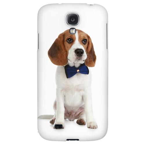 Beagle with Bow Tie - Geeks Designer Line Puppy Series Hard Back Case for Samsung Galaxy S4
